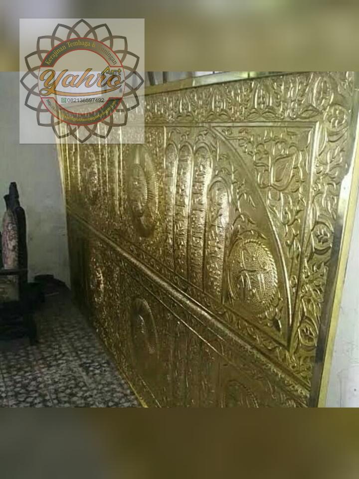 replika pintu ka'bah