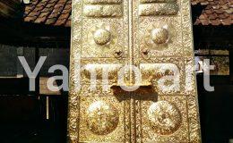 replika pintu kabah kuningan